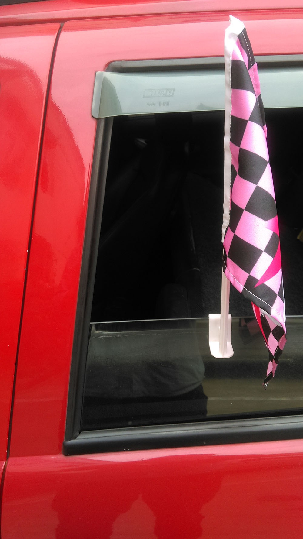 China Factory Polyester Car Flag for Car Window